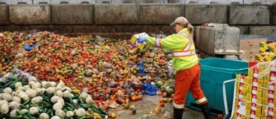 'Food waste third-largest gas emitter'
