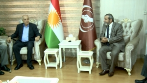 Secretary-General of the KIU receives the General Coordinator of the Change Movement