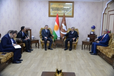 Secretary-General of Kurdistan Islamic Union receives the Turkish Consul in Kurdistan Region