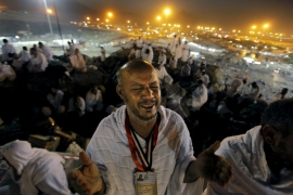 Two million Muslims gather near Mecca for Hajj