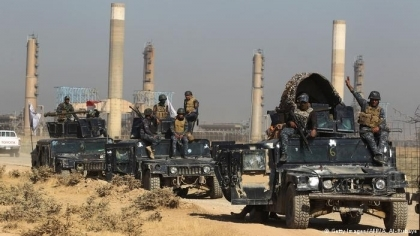 Iraqi army withdraws from Kirkuk