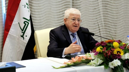 Masum arrives in Sulaymaniyah to meet Kurdish parties