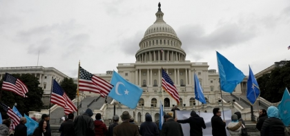 US: Hundreds march in solidarity for Uyghurs