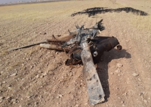 SDF down a Turkish army helicopter in Ein Issa area
