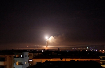 Israel says it hit Iranian military targets in Syria