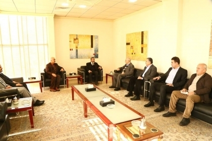 Kurdistan Islamic Union discuss with the Change Movement improving the living conditions of citizens