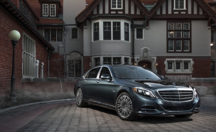 ئۆتۆمبێڵی Mercedes Maybach S600