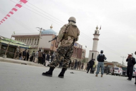 Suicide attack kills 27 at Shia mosque in Afghanistan