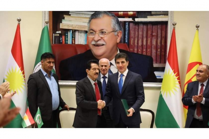 A political agreement between the two parties of power in Kurdistan ends the dispute over the sharing of positions