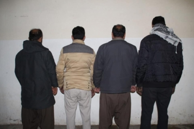 A robbery gang arrested in Erbil