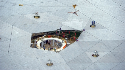 China puts final touches to world's largest telescope