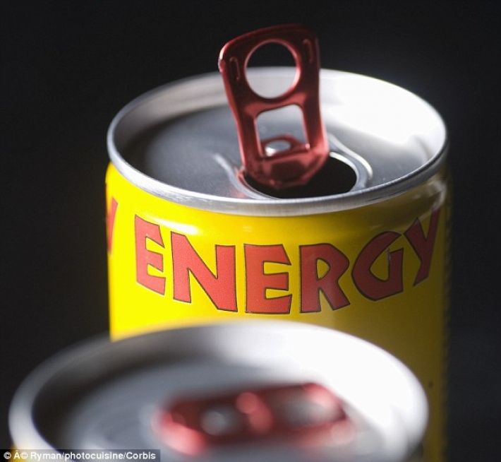 Energy drink consumption rising in the U.S.