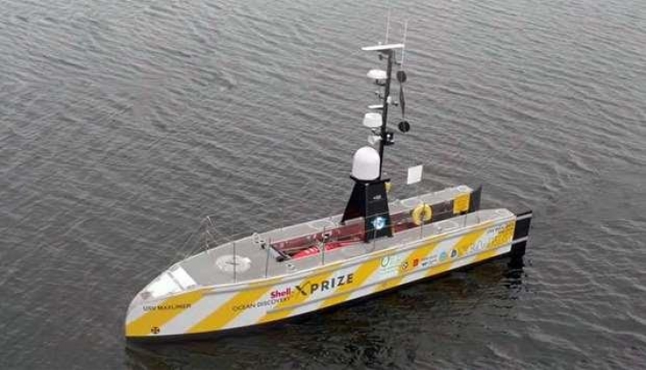 12-meter ship aims to be first to cross Atlantic without a crew