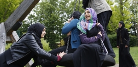Report says young UK Muslims face 'enormous' challenges
