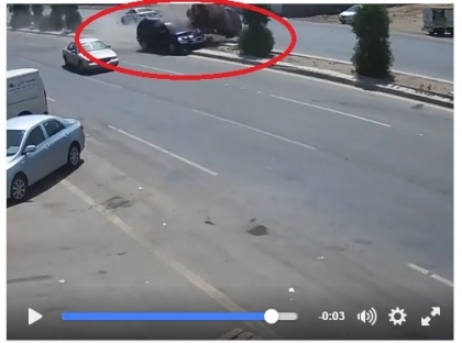 Video...a horrible car accident in Erbil