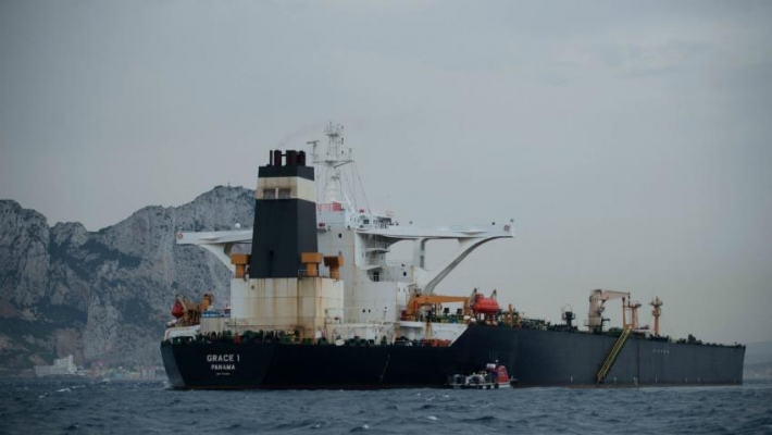 Iran seizes foreign oil tanker for 'smuggling oil', crew arrested