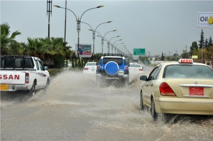 Sulaimaniyah tops the provinces of the region in the proportions of rainfall