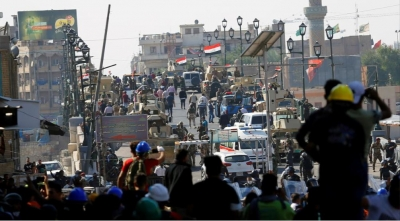 Four protesters killed by gunfire from security forces in Baghdad