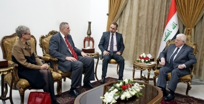 President of the Republic receives the Representative of the Secretary-General of the UN