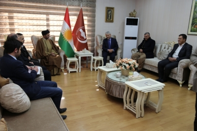 The National Wisdom Movement delegation visits Kurdistan Islamic Union in Sulaimaniyah