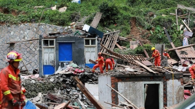 China: Death toll rises to 45 in Typhoon Lekima