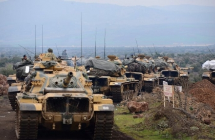 UN: The Turkish operation in Afrin led to the displacement of about 5000 people