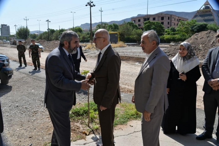 Secretary-General of the Kurdistan Islamic Union visits the city of Dohuk