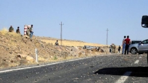 Four Turkish soldiers wounded in an explosion in Dohuk