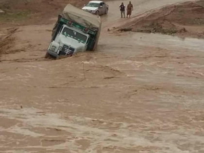 Rain cuts the road of Erbil, Sulaymaniyah and Mosul