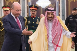 Iraqi president discusses Gulf ties with GCC chief