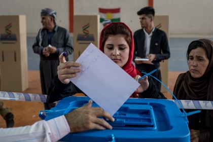 Kurdistan political parties sign the electoral honor document