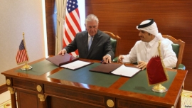 US and Qatar sign deal on fighting terrorism