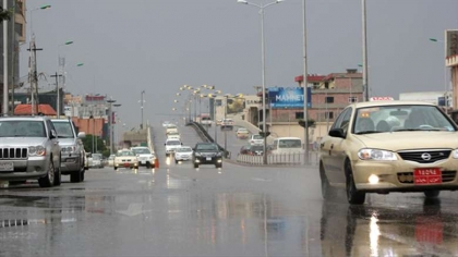 The rains will continue in the Kurdistan region until next Saturday