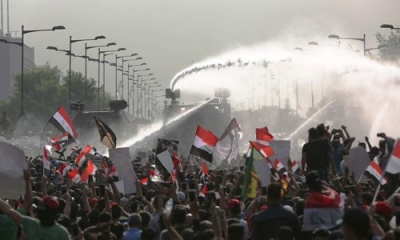 US urges Iraqi gov't to end attacks against protesters