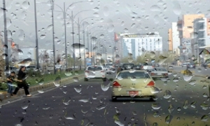 Clouds and thunderstorms sweep the Kurdistan region