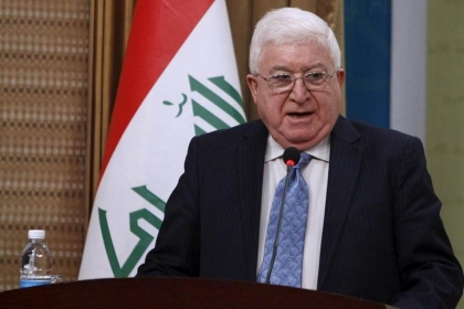 Masoum calls on Baghdad and Erbil to continue dialogue