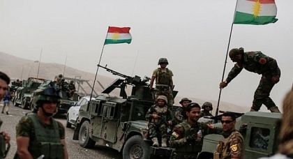 Peshmerga forces launch a military operation against ISIS