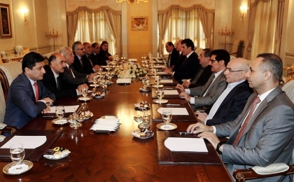 High level meeting between the PUK and KDP